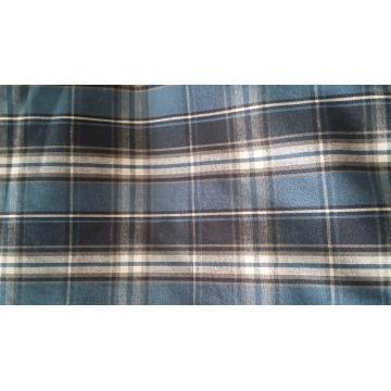 100% coton Tissu teint en flanelle tissé 20 * 10 40 * 42 63 '