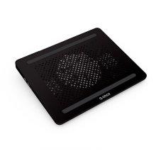 Cojín de enfriamiento del ordenador portátil del USB con un diseño fino estupendo del ventilador
