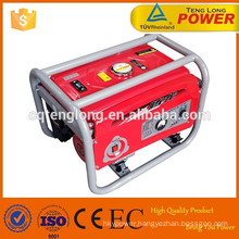 AC Output Rated Power 5kva / 5kw Gasoline LPG Dual Fuel Generator