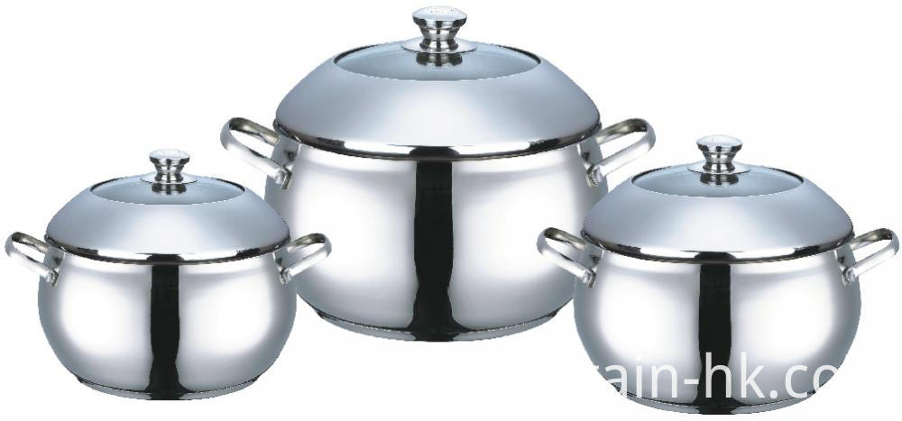 Casserole With Dome Lid