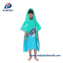 60x120cm cotton full color printed beach towel kids