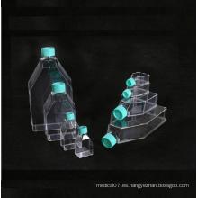 Matraz de cultivo celular de laboratorio estéril desechable