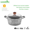 Cuisson antiadhésive de granit Cooking Sauce Pot