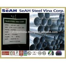 """1 """"-8"""" Tubo de acero galvanizado a ASTM, UL, FM y varias normas exportadas al mercado de Tailandia"""