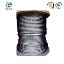 Cordage de fil de poisson en acier au carbone 7 * 19