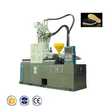 Shoes Soles Vertical Plastic Injection Moulding Machine