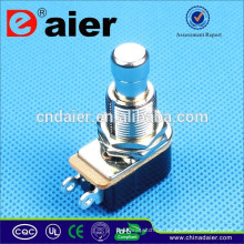 DAIER soft touch SPST OFF- (ON) Pedal de botão elétrico