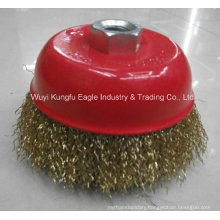 5′′ Inch Single Row Power Knot Cup Wire Brush