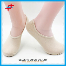 2015 summer cotton anti-slip invisible socks