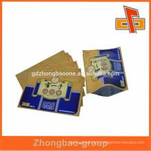 China Pharmaceutical Packaging Bags/3 Side Heat Seal Sachet /Aluminum Foil Bag For Medicine Use