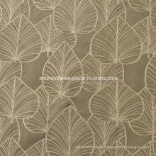 2016 grado superior hilo de poliéster patrón moderno teñido de tela de cortina de la ventana