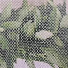 Tissu de mariage de filet de maille de tulle de tricot de polyester 50D