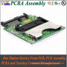 PCBA-Test Steuerplatine PCBA für LCD-Display mit Double Side Layers Platine mit Montage