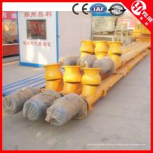 Transportador de parafuso que faz a fabricação da máquina em China