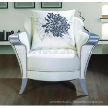 Elegant soft wooden hotel arm chair XYD234