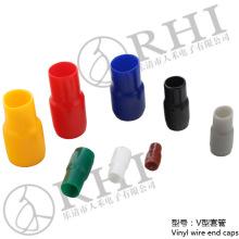 Douilles d'isolation de fil de botte de cosse de PVC