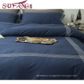 top 5 luxury 5 star hotel houseHigh Quality Hotel Bedding Linen Supplier 100% Cotton Plain White Bed Sheets Set frame embroidery
