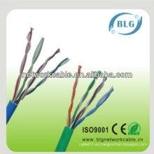 Buen cable del funcionamiento cable de los cabritos 0.5mm utp cat5e lan