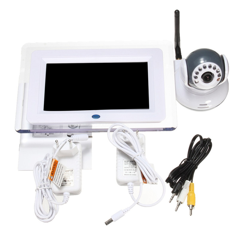 Digital Video And Sound Baby Monitor