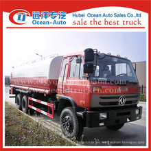 Dongfeng 20000L manual de transmisión agua rociador precio de camión