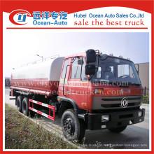 Dongfeng 20000L manual de transmissão de água do preço do caminhão de aspersão de água
