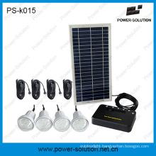 Four Bulbs DC Solar Lighting Kits with Mobile Charger