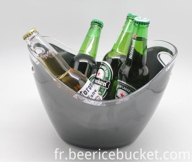 Promotion gift plastic ice bucket