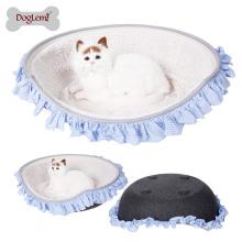 2017 luxo de alta qualidade feltro pet house para gatos e cães pequenos pet camas