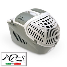 plastic pet travelling cage dog+cat carrier cage