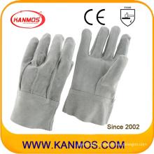 Промышленная безопасность Полный кожаный кость Сплит рабочие перчатки (11023)