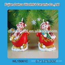 Nueva llegada, vela del mono, velas caseras, velas de la Navidad por el año del mono