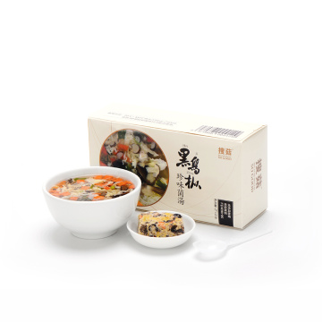 Wholesale delicious mushroom egg soup