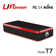 Car jump starter power bank auto battery jump box for 12 volt vehicle