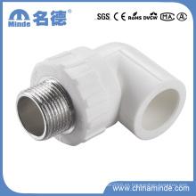 Codo masculino PPR Tipo de ajuste para materiales de construcción