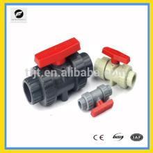 CWX-series UPVC Válvulas de bola de unión verdadera DN15 a DN100