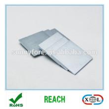 19x19x2mm Zink vernickelt Neodym-Magneten