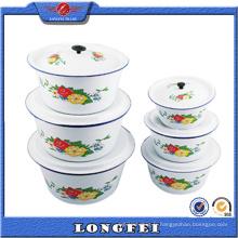 14-28 Cm Éclaboussure couleur blanche Vasque avec couvercle