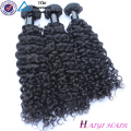 Großhandelsgroßes auf Lager menschliches gelocktes Jungfrau-Haar