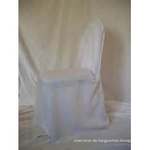 Großhandel billig 100 % Polyester Bankett Stuhlabdeckung für Hochzeit Bankett hotel