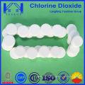 Désinfectant pour eau potable avec des comprimés de dioxyde de chlore