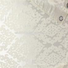 Tecido de cortina jacquard pesado de poliéster