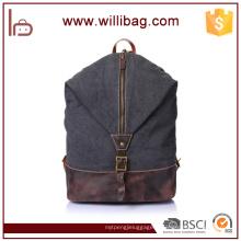 Sac à dos de voyage vintage en gros, sac à dos durable de toile