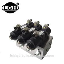 фильтр на линии всасывания для масла в гидравлической системе с электрическим двигателем