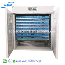 2112 chicken eggs hatching machine for sale full automatic incubator high quality low power consumption