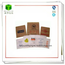 Block Bottom, Flat Bottom Paper Bag for Food