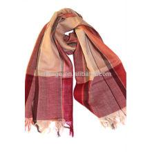 cashmere lightweight checked shawls,scarfs