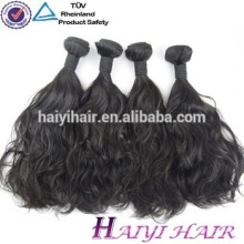 One Donor Double Weft Unprocessed Eurasian Human Hair Wet And Wavy Weave