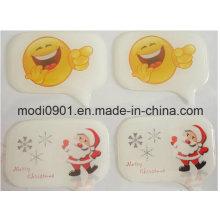 3D Adhesive Epoxy Dome Label Cheap Simple Shield Epoxy Label Green and Black Epoxy Stickers