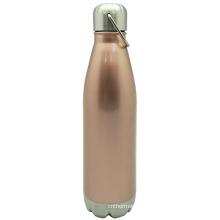 Нержавеющая сталь Вакуумные спорта бутылки с ручкой 750 мл