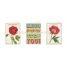 Paper Cut Greeting Happy Birthday Invitation Cards For Birthday